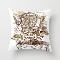 strange artefact Throw Pillow