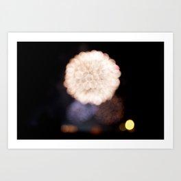fireworks II Art Print
