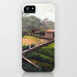 Rural Kolkata iPhone Case