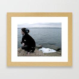 feathering Framed Art Print