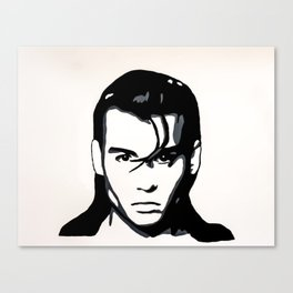 Cry Baby Walker Canvas Print