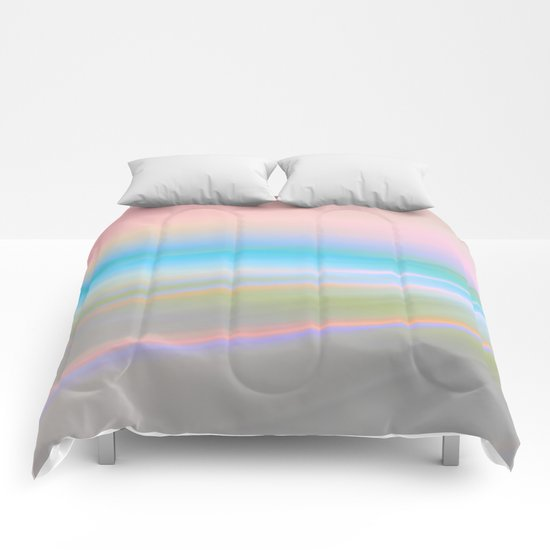Abstract pastel 2016 / 001 Comforters