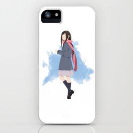 Noragami Minimalist (Hiyori) iPhone Case