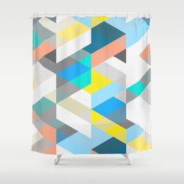 Bold Halequin Shower Curtain