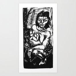 Yamana Art Print