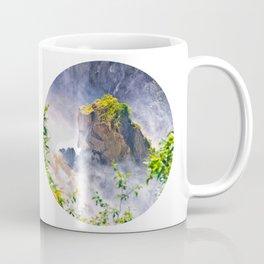 Rock in the falls Coffee Mug
