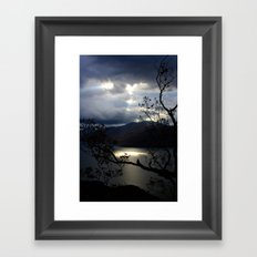 Nature's Spotlight Framed Art Print