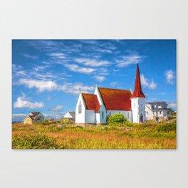 The Village Church Canvas Print
