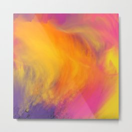 Colorful mix Metal Print