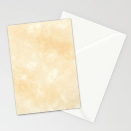 Smooth Beige Marmol Stone Stationery Cards