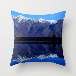 Knik River Mts Throw Pillow
