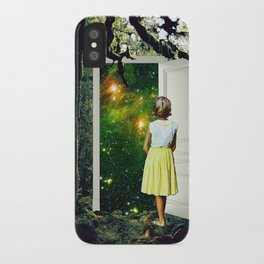 Portal in the Woods iPhone Case