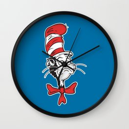 The Grumpy Hat Wall Clock