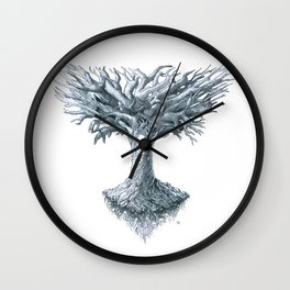The Tree of Many Things Wall Clock