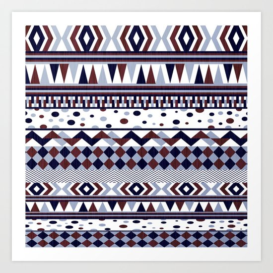 Tribal Vibe Art Print