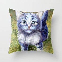 Little Aurora Throw Pillow