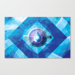 Ring of Water Canvas Print