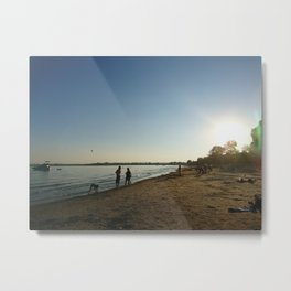 City Beach Metal Print