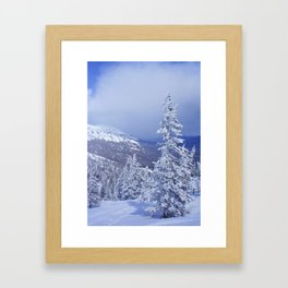 Winter day 27 Framed Art Print