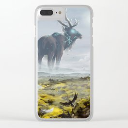 Old Gods Clear iPhone Case