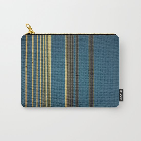 Yellow lines into the sky Carry-All Pouch