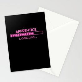 Apprentice Loading Stationery Cards