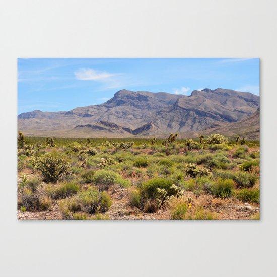 Painted Desert - I Canvas Print