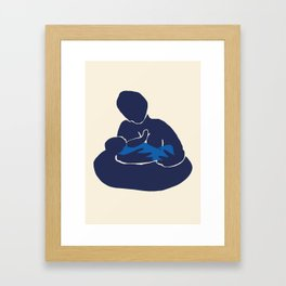 Mother and Child I (After Matisse) Framed Art Print