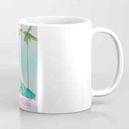 Tallahassee Florida travel poster, Coffee Mug