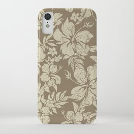 Hibiscus Pareau Hawaiian Floral Aloha Shirt Print iPhone Case