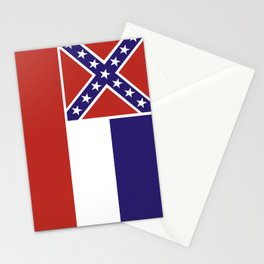mississippi state flag united states of america country Stationery Cards