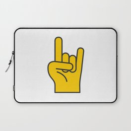 Hans Gesture - The Horns Laptop Sleeve