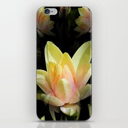 Fractal Water Lily iPhone Skin