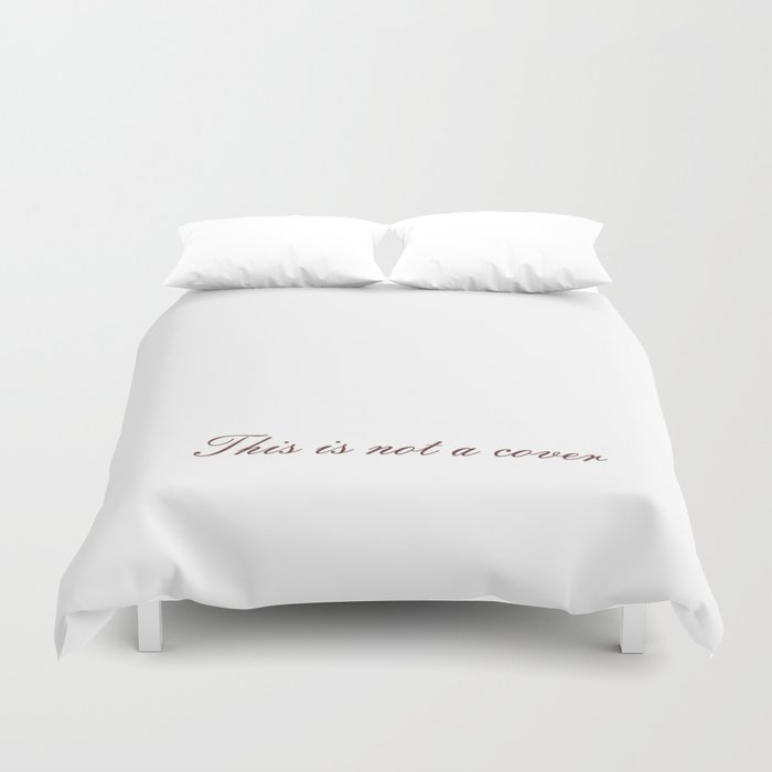 Rene Magritte: This is not a Duvet Cover