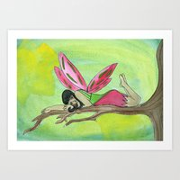 Tree Fairy Art Print