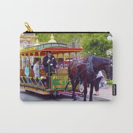 Horse-Drawn Trolley I Carry-All Pouch