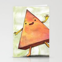 pyramid Stationery Cards featuring Pyramid by Pumpkin Snipes