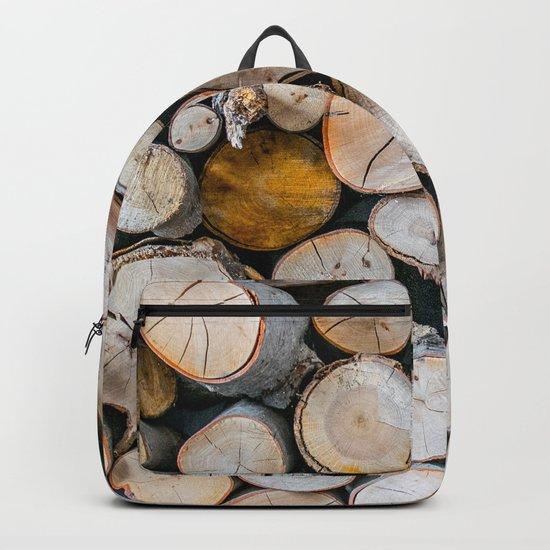 Logged Backpack
