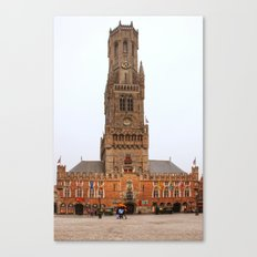 Tower in Brugge  Canvas Print
