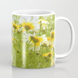 Soft Yellow Spring Flowers by Reay of Light Coffee Mug