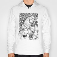 koi fish Hoodies featuring Koi Fish by Disturbed