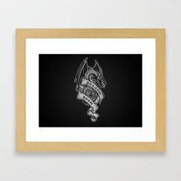 Dragon Born Framed Art Print