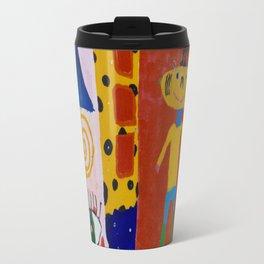 Painted wall Travel Mug