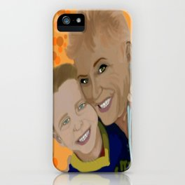 debbie and brody 1 iPhone Case