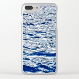 Abstract Water Games I Clear iPhone Case