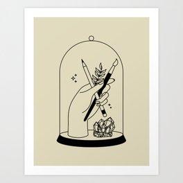 Bell Jar Art Print