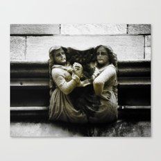 Sisters With a Cause Gargoyle, University of Chicago Canvas Print