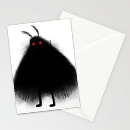 Your Fellow Friendly Cryptid: Mothman Stationery Cards