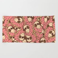 Puglie Doughnut Beach Towel
