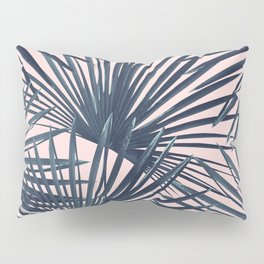 Tropical Fan Palm Leaves #4 #tropical #decor #art #society6 Pillow Sham